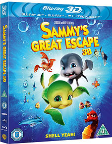 Sammy's Great Escape 3D (Blu-Ray) (C-U) Blu-ray