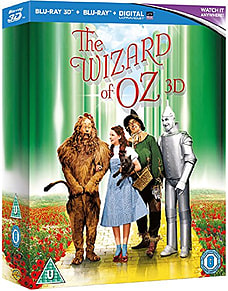 The Wizard of Oz - 75th Anniversary Edition (3D Blu-Ray + Blu-Ray) (C-PG) Blu-ray