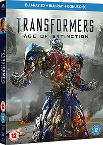 Transformers 4: Age of Extinction (3D + 2D Blu-Ray) (C-12) Blu-ray