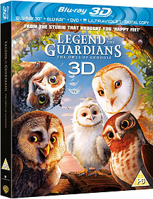 Legend Of The Guardians - The Owls Of (Blu-Ray 3D) (PG) Blu-ray