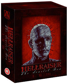 Hellraiser: The Scarlet Box Trilogy (Blu-ray)* PRE-ORDER 26TH October * Blu-ray