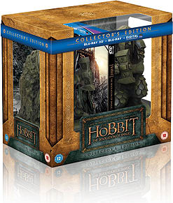 The Hobbit - Desolation Of Smaug Bookend Edition (3D Blu-Ray + Blu-Ray) (C-12) Blu-ray