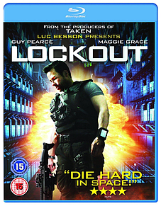 Lockout (Blu-ray) Guy Pearce (C-15) Blu-ray