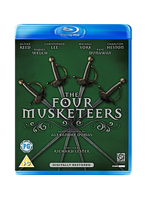 The Four Musketeers (Blu-Ray) (C-PG) Blu-ray
