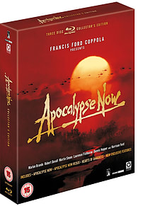 Apocalypse Now Special Edition 3 Disc (Blu Ray) Inc Hearts Of Darkness (C-15) Blu-ray