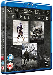 Saints And Soldiers Triple Pack (Blu-Ray) (C-15) Blu-ray