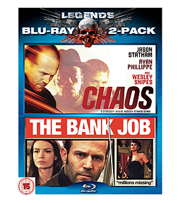 Chaos / Bank Job (Blu-Ray) (C-18) Blu-ray