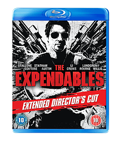 The Expendables - Extended Directors Cut (Blu-Ray) (C-18) Blu-ray