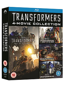 Transformers 1-4 Boxset (Slimline Version) (Blu-Ray) (C-12) Blu-ray