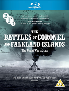 The Battles Of Coronel And Falkland Islands (1927) (Blu-Ray) (C-PG) Blu-ray