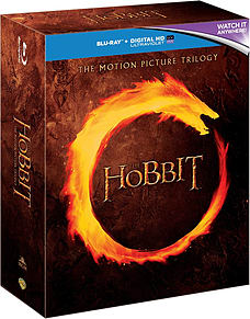 The Hobbit Trilogy (inc Unexpected Journey, Smaug & 5 Armies) (Blu-Ray) (C-1 Blu-ray