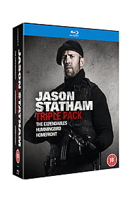 Jason Statham 3 Movie Set (The Expendables, Hummingbird, Homefront) (Blu-Ray) Blu-ray