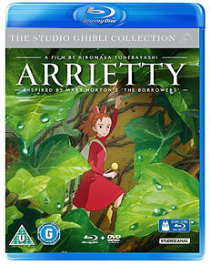 Arrietty (Double Play) (Blu-Ray) Studio Ghibli (C-U) Blu-ray