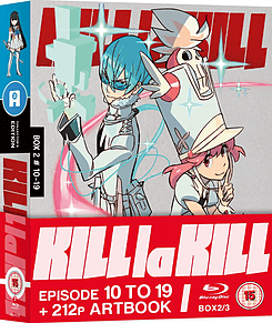 Kill La Kill - Collector's Edition Part 2 Of 3 (Blu-Ray) (C-15) Blu-ray