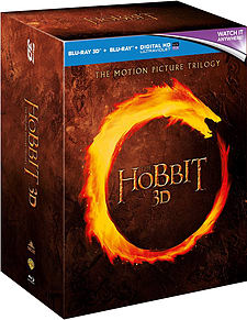 The Hobbit Trilogy (Unexpected Journey, Smaug & 5 Armies) (3D Blu-Ray) (C-12) Blu-ray