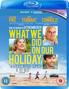 What We Did On Our Holiday (Blu-Ray) Rosamund Pike, David Tennant (C-12) Blu-ray