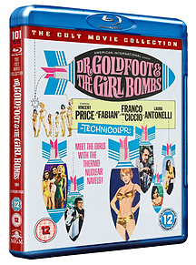 Dr Goldfoot And The Girl Bomb [Blu-Ray] Blu-ray