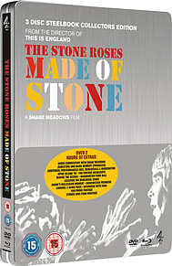 Stone Roses: Made Of Stone Dvd/Bd Steelbook (3 Disc) (Blu-Ray) (C-15) Blu-ray