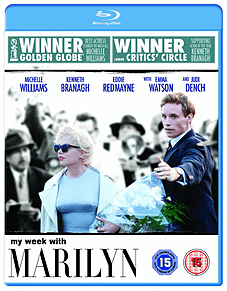 My Week With Marilyn (Blu-ray) Michelle Williams, Eddie Redmayne (C-15) Blu-ray