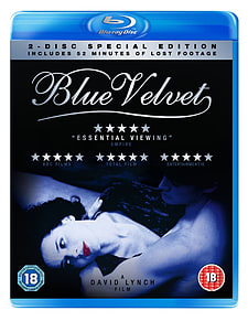 Blue Velvet Special Edition inc Lost Footage (Blu Ray ) Blu-ray