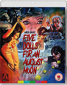 Five Dolls For An August Moon (Blu-Ray) Mario Bava Blu-ray