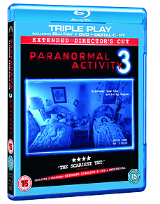Paranormal Activity 3: Double Play (2 Discs) (Blu-Ray) (C-15) Blu-ray