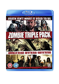 Zombie Boxset (Survival Of The Dead/Day Of The Dead/Diary Of The Dead) (Blu-Ray) Blu-ray