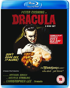 Dracula (Blu-Ray) Hammer - Christopher Lee and Peter Cushing (C-15) Blu-ray
