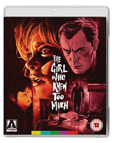 The Girl Who Knew Too Much (Blu-Ray) Mario Bava (C-12) Blu-ray
