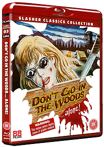 Don't Go In The Woods... Alone (Blu-Ray) (C-18) Blu-ray