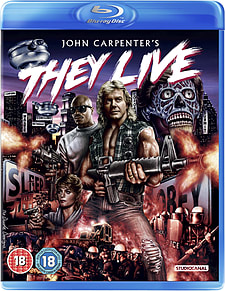 They Live (Blu-Ray) John Carpenter (C-18) Blu-ray
