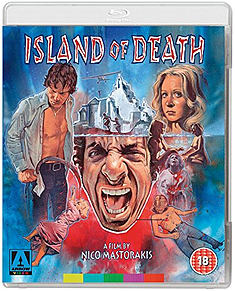 Island Of Death (Blu-ray + DVD) (C-18) Blu-ray