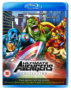 The Ultimate Avengers 1+2 (Blu-Ray) (C-12) Blu-ray