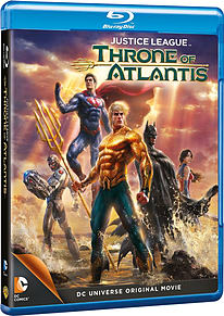 Justice League: Throne Of Atlantis (Blu-Ray) (C-15) Blu-ray