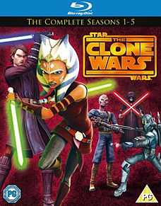 Star Wars: Clone Wars - Season 1 - 5 (Blu-Ray) Blu-ray