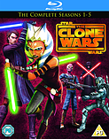 Star Wars: Clone Wars - Season 1 - 5 (Blu-Ray) screen shot 1
