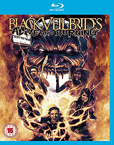 Black Veil Brides Alive And Burning (Blu-ray) Blu-ray