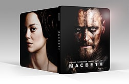 Macbeth Steelbook (Blu Ray) Michael Fassbender Blu-ray