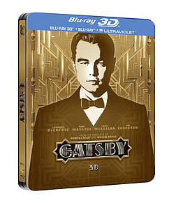 Great Gatsby 3D and 2D Blu-Ray Steelbook (C-12) Blu-ray
