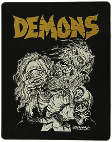 Demons & Demons 2: Limited Edition Steelbook (2 Discs) (Blu-Ray) (C-18) Blu-ray
