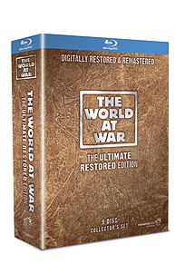 The World At War: The Ultimate Restored Edition (9 Discs) (Blu-ray) Blu-ray
