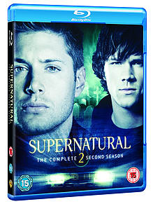 Supernatural: Season 2 Box Set (4 Discs) (Blu-Ray) (C-15) Blu-ray