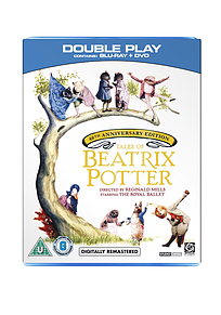 Tales Of Beatrix Potter (40th Anniversary - BBC Series) (DVD & Blu-Ray) (C-U) Blu-ray