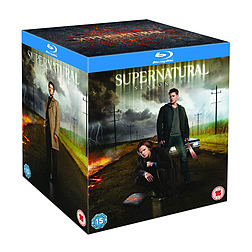 Supernatural Season 1-8 Boxset (Blu-Ray) (C-15) Blu-ray