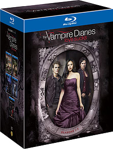 The Vampire Diaries Seasons 1-5 (Blu-Ray) (C-15) Blu-ray