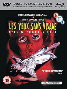 Eyes Without a Face [Limited Edition 3 Disc Dual Format] Blu-ray