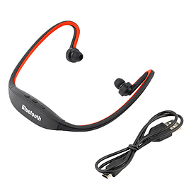 LaptoneWireless Sports earphone Bluetooth earphone-Red Audio