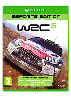 WRC 5 eSports Edition Xbox One Cover Art