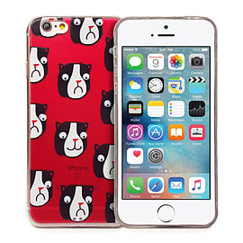 Frostycow 'Panda' Retro Goggle Eye Cartoon Case Cover Protector For Apple iPhone 5/5S Mobile phones