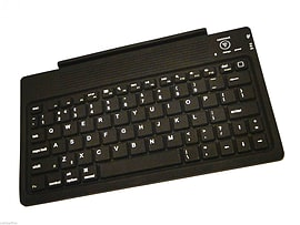 iGo Bluetooth Keyboard for iPad, Air, Mini, or 2 3 4 Charges via micro USB slot Tablet